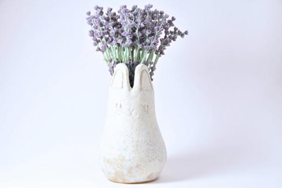 animal planter handmade ceramic plant pots