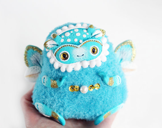 Lullaby for Foxes - Fantastical Monster Toys - Kawaii Art Toys | Small for Big