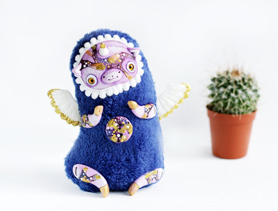 Lullaby for Foxes - kawaii art toys and fantastical creatures